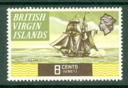 British Virgin Is: 1970/74   QE II - Ships  SG247   8c   MH - British Virgin Islands