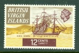 British Virgin Is: 1970/74   QE II - Ships  SG249   12c   MH - British Virgin Islands