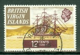 British Virgin Is: 1970/74   QE II - Ships  SG249   12c   Used - British Virgin Islands