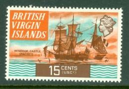 British Virgin Is: 1970/74   QE II - Ships  SG250   15c   MH - British Virgin Islands