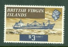 British Virgin Is: 1970/74   QE II - Ships  SG255   $3   MH - British Virgin Islands