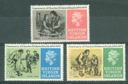 British Virgin Is: 1970   Charles Dickens Death Centenary   MNH - British Virgin Islands