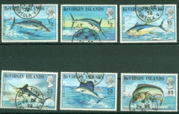 British Virgin Is: 1972   Game Fish     Used - British Virgin Islands