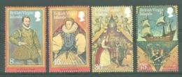 British Virgin Is: 1980   Sir Francis Drake Commemoration   MNH - British Virgin Islands