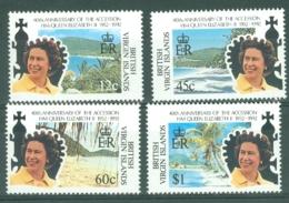 British Virgin Is: 1992   40th Anniv Of QE II Accession   MNH - British Virgin Islands