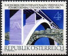 AUSTRIA 1980 Structural Engineering Congress, Vienna - 1945-.... 2nd Republic