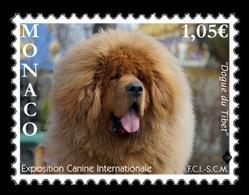 Monaco 2019 Mih. 3431 Fauna. International Dog Show 2019. Tibetan Mastiff MNH ** - Neufs