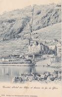 Territet, Hotel Des Alpes Et Chemine De Fer De Ghion - VD Vaud