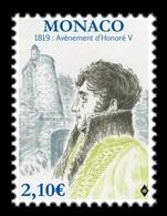 Monaco 2019 Mih. 3433 Prince Honore IV MNH ** - Neufs