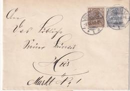 ALLEMAGNE 1901 LETTRE DE OSNABRÜCK - Allemagne