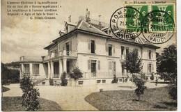 7254 - Suisse - SAINT LOUP  :  L' HOPITAL   ( Disparu ??)  Carte Circulée En 1910 - VD Vaud