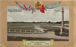 Québec Centenary Centenaire - 1608-1908 - Valentine & Sons - VG Condition - Unused - 2 Scans - Autres