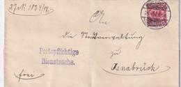 ALLEMAGNE 1897 LETTRE DE MÜHLHAUSEN - Allemagne