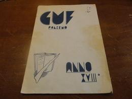 GUF PALERMO-ANNO XVIII - 1940 PALERMO - Documenti