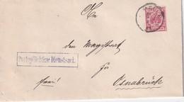 ALLEMAGNE 1893 LETTRE DE MELLE - Allemagne