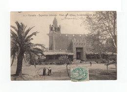 Sur Carte Postale Expo. Coloniale Type Blanc CAD Exposition Coloniale 1906. Vignette Exposition Coloniale. (1093x) - Marcophilie (Lettres)