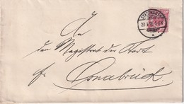 ALLEMAGNE 1895 LETTRE DE STADTHAGEN - Allemagne