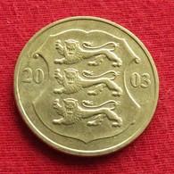 Estonia 1 Kroon 2003 KM# 35 Estonie - Estonia
