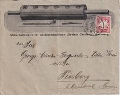 ALLEMAGNE 1908 LETTRE ILLUSTREE DE NÜRNBERG - Allemagne
