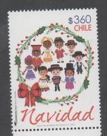 CHILE, 2017, MNH, CHRISTMAS ,1v - Christmas