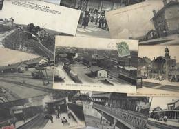 Lot 1614 De 10 CPA Gares Intérieures Avec Trains Ou Sans Déstockage Pour Revendeurs Ou Collectionneurs - Cartes Postales