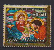 EL SALVADOR ,2017, MNH, CHRISTMAS, 1v - Christmas