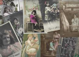 Lot 1619 De 10 CPA Enfants Fantaisies Déstockage Pour Revendeurs Ou Collectionneurs - Cartes Postales