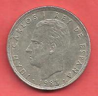 25 Pesetas , ESPAGNE , Cupro-Nickel , 1983 ( M ) , N° KM # 824 , N° Y129a - 25 Pesetas