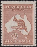Australia   .    SG   .     73   .        **      .     MNH    .   /   .    Postfris - 1913-48 Kangaroos