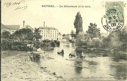 08 Ardennes RETHEL Le Déversoir Et Le Gué Animée - Rethel