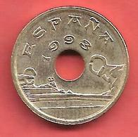25 Pesetas , ESPAGNE , Nickel-Bronze , 1993 , N° KM # 920 , N° Y238 - 25 Pesetas