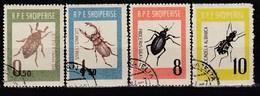 ALBANIEN 1963 - MiNr: 735-738 Komplett  Used - Albanie