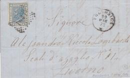 Un Annullo Per Paese Follonica (Grosseto) Numerale  A Punti - 1861-78 Vittorio Emanuele II