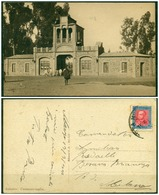 CARTOLINA - V8632 COLONIE ITALIANE ERITREA 1935 Cartolina Illustrata (Asmara Caravanserraglio) Affrancata Con 20 C. VEII - Eritrea