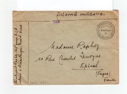 Env. Interné Militaire Suisse Geöffnet Ouvert Censure Militaire. Cachet Du Camp D'internement De Wiesendangen. (1098x) - Marcophilie (Lettres)