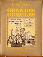 E.O 1983 De Funes , Fernandel , Gabin , Le Ciné Club Des Grandes Gueules . - Merchandising