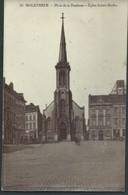 CPA MOLENBEEK Place De La Duchesse Eglise Sainte-Barbe - Molenbeek-St-Jean - St-Jans-Molenbeek