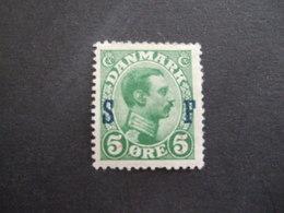 DENMARK.  1917. MICHEL M1. YVERST S 20.  MH * (0247) - 1913-47 (Christian X)