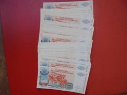 LOT CROATIE 1993. 80 BILLETS 5000.000 DINARA PRESQUE NEUFS ! - Monnaies & Billets