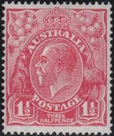 Australia   .    SG   .     87         .        **      .     MNH    .   /   .    Postfris - 1913-36 George V : Têtes