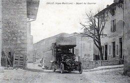 Caille - Départ Du Courrier - Francia