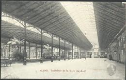 CPA GAND  Intérieur De La Gare (du Sud) - Gent