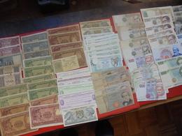 ITALIE BEAU LOT 96 BILLETS ANCIENS/RECENTS LA PLUPART CIRCULER - Monnaies & Billets