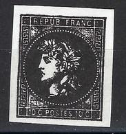 France, Libération, La Mure, N° 1 ** Signé TB - Libération