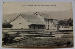 BOURG-MADAME.  La Gare - Frankreich