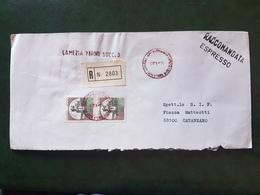 (18492) STORIA POSTALE ITALIA 1983 - 6. 1946-.. Repubblica