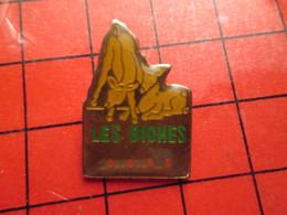 311b Pin's Pins / Rare Et De Belle Qualité / ANIMAUX : LES BICHES Miammmmmmmm Avec Une Sauce Béarnaise - Animaux
