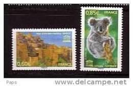 2007-N° 138/139** U.N.E.S.C.O. MAROC AUSTRALIE - Neufs