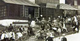 BUSTENI - Poiana TAPULUI 1935, VILA Cofetaria Bomboneria Regala, Animata, Rara - Romania