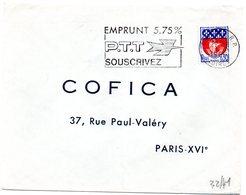 LOIRET - Dépt N° 45 = ORLEANS RP 1966 = FLAMME Non Codée = SECAP Multiple ' EMPRUNT PTT 5,75 % ' - Marcophilie (Lettres)